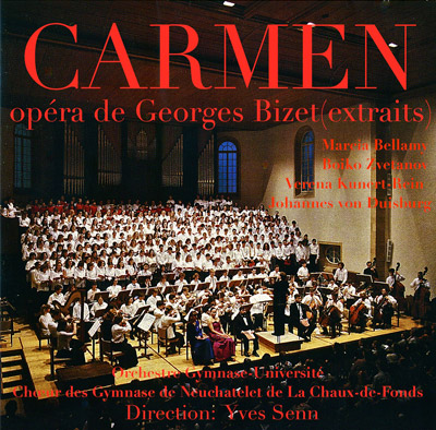 Carmen CD cover