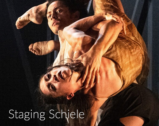 Staging Schiele production shot